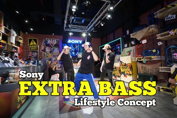 Sony Perkenal EXTRA BASS Lifestyle Concept Di Sunway Pyramid