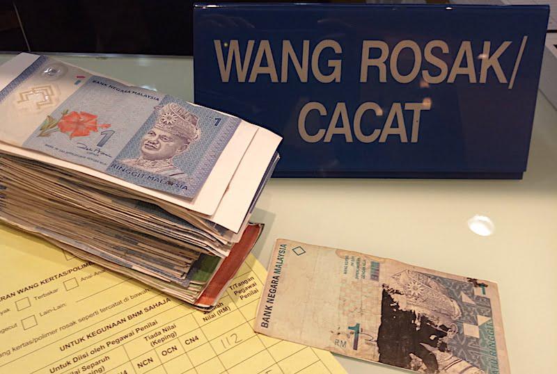 Tukar Duit Rosak Atau Duit Cacat Di Kuala Lumpur