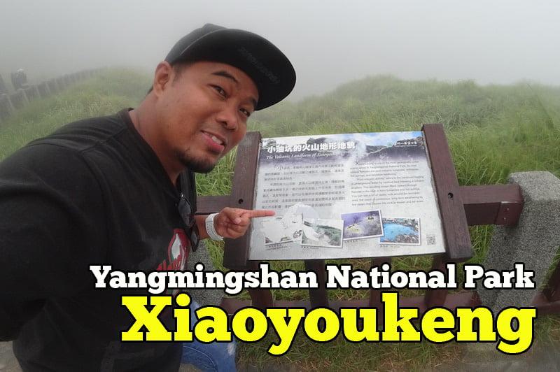 Tanah Gunung Berapi Xiaoyoukeng Yangmingshan National Park Taiwan