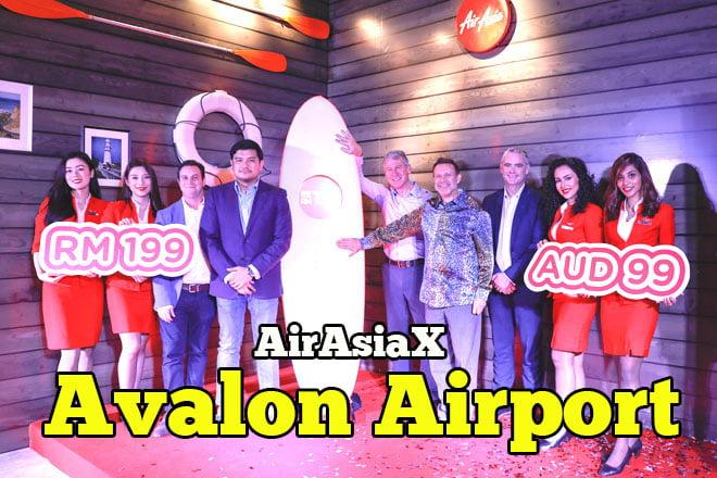 AirAsia to Avalon Airport