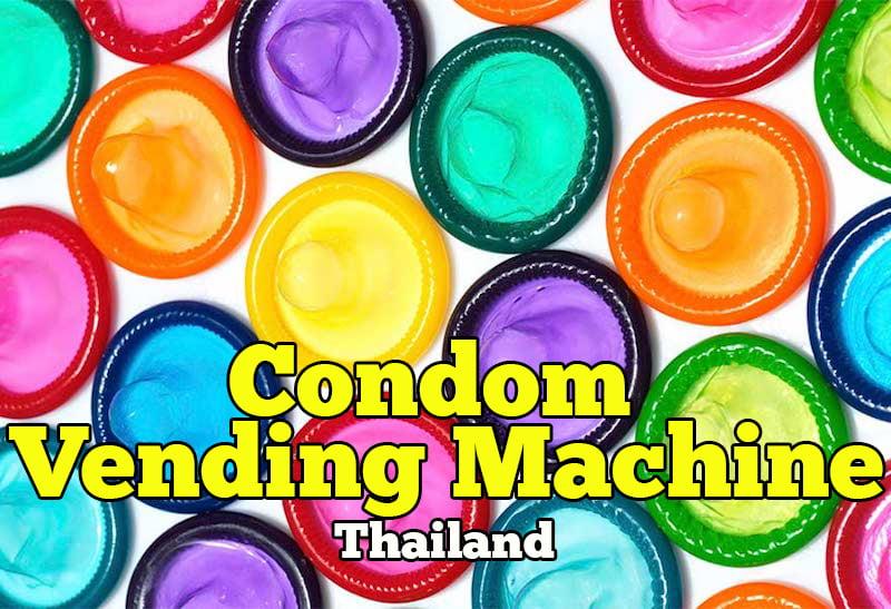 Kondom Vending Machine Di Thailand
