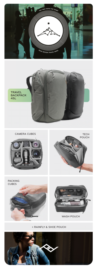 Beg Kembara Everyday Peak Design Capai Tahap Ultimate Carry-on Bag