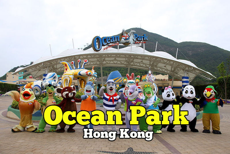ocean park hong kong theme park