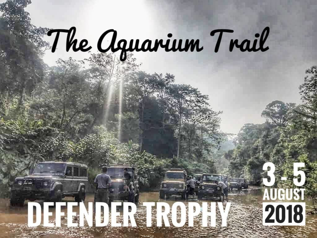 Defender Trophy The Aquarium Trails KL Jengka Lepar Gaya 4X4