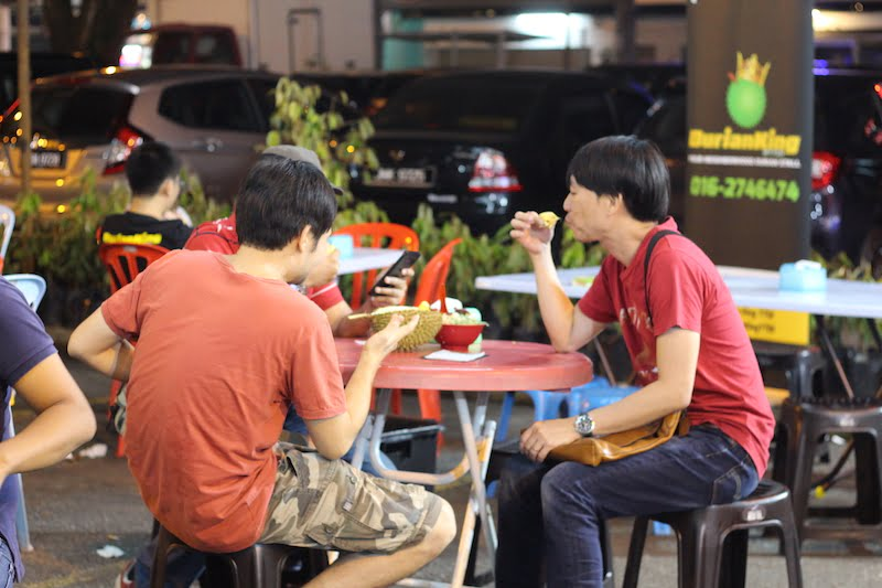 Durian King TTDI Tempat Makan Durian Paling Best