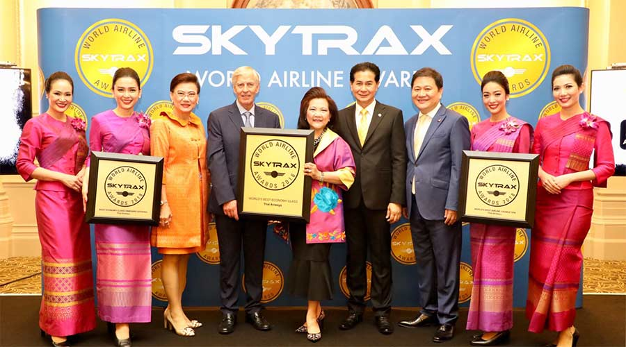 Thai Airways Menang 3 Skytrax 2018 World Airline Awards 01 copy