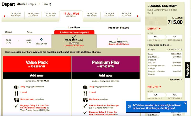 Free Seats AirAsia Promosi Tiket Murah Seoul