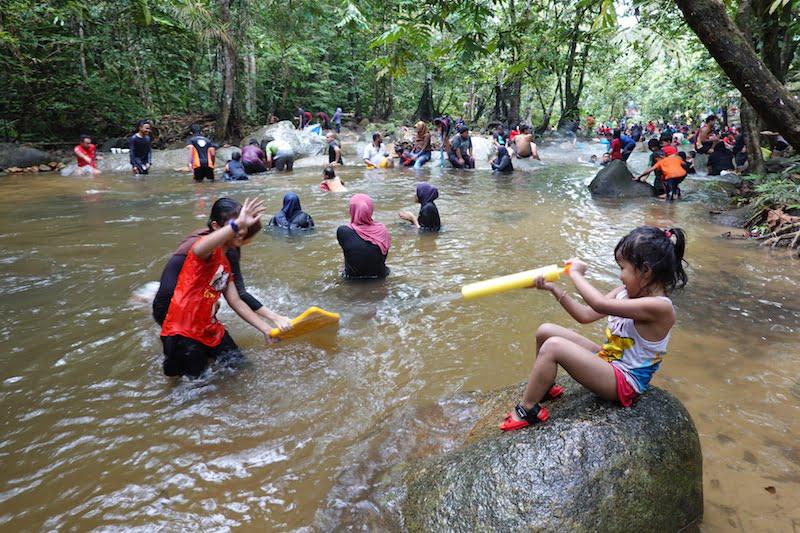 hutan lipur sungai tua ulu yam taman negeri selangor