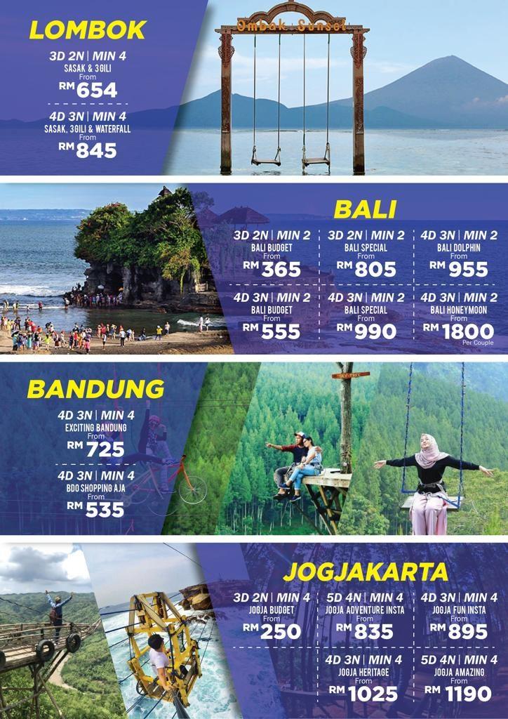 Pakej Travel Murah Indonesia KSB Travel Matta Fair 2018