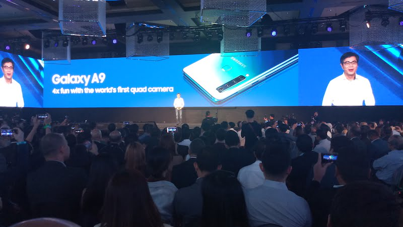 Samsung Unpacked Galaxy A9