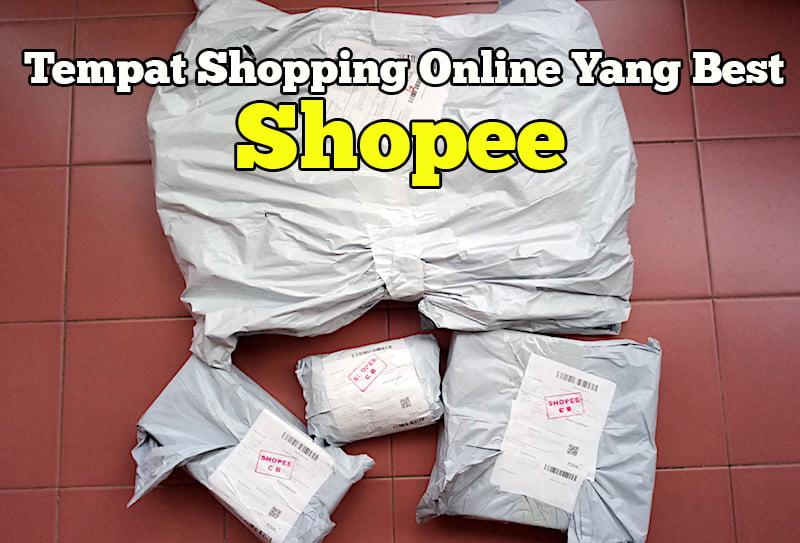 shopee online tempat shopping dalam talian