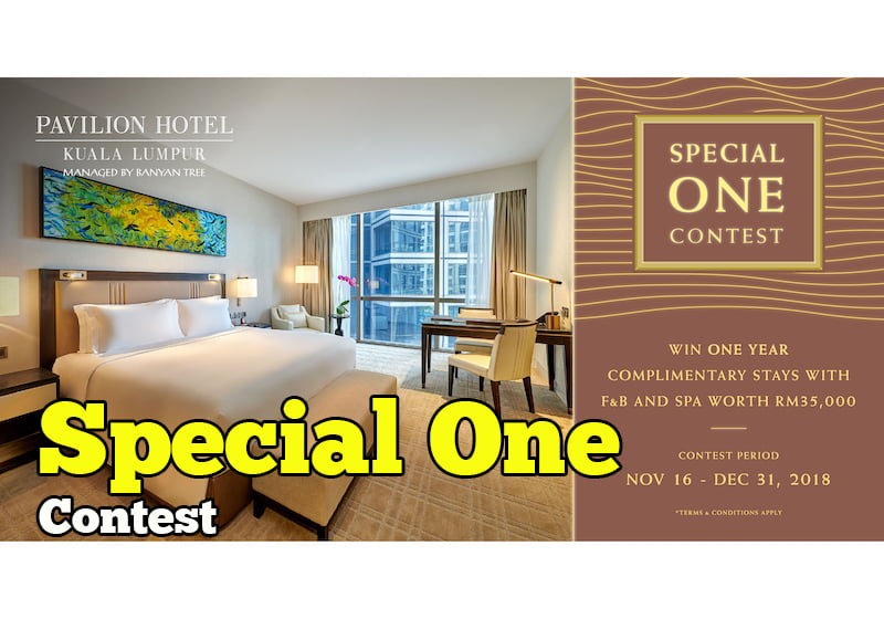 Pavilion Hotel Kuala Lumpur Special One Contest
