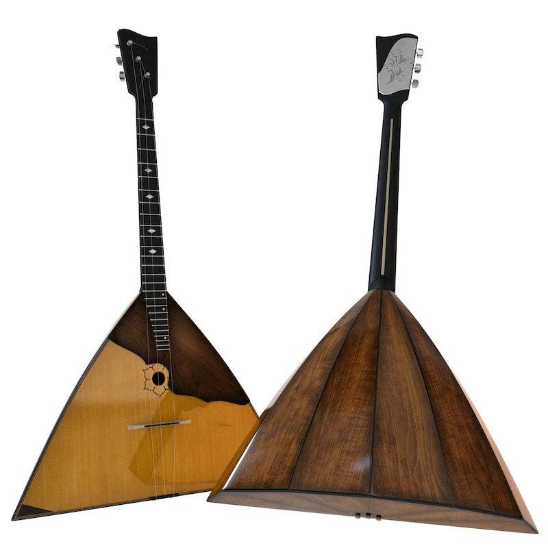muzik tradisional russia Balalaika
