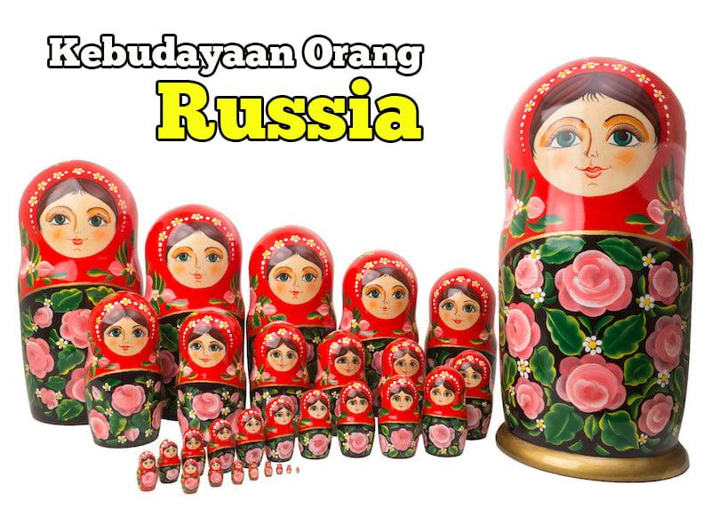 kebudayaan russia matryoshka dolls