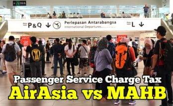 Passengger Service Charge Tax Malaysia