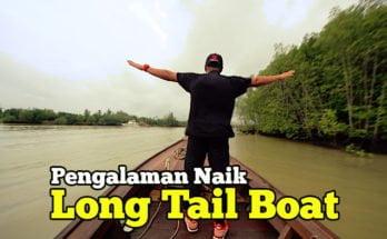 Pengalaman Naik Long Tail Boat di Krabi