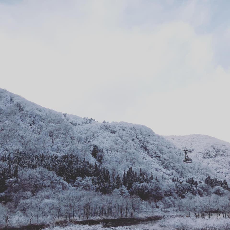 Salji Mula Turun di Jepun 2018 Kagura 09