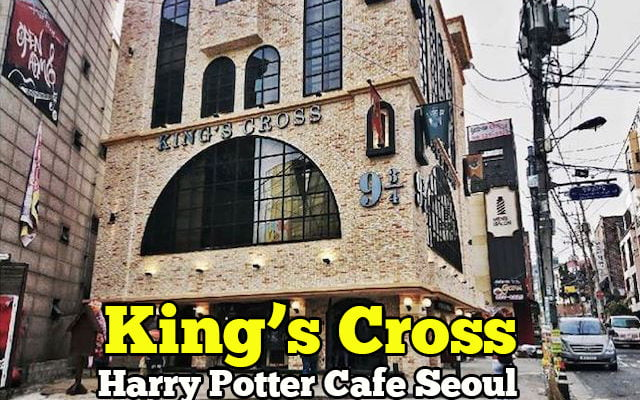 kings cross harry potter cafe seoul