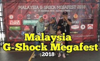 malaysia g-shock megafest 2018