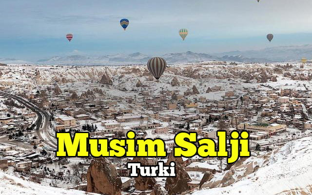 musim salji di turki
