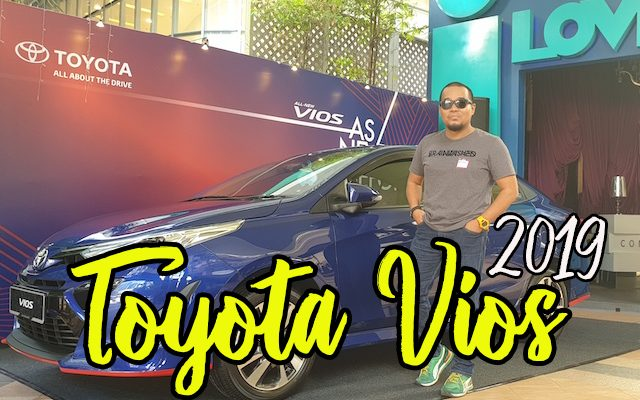 Pelancaran Model Terbaru Toyota Vios 2019