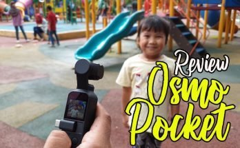 review dji osmo pocket gambar