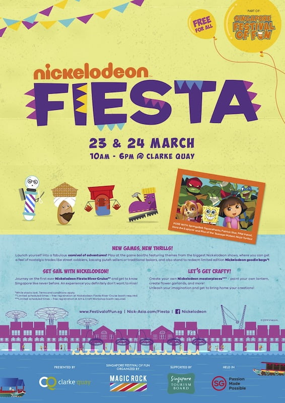 Singapore Festival of Fun Clarke Quay