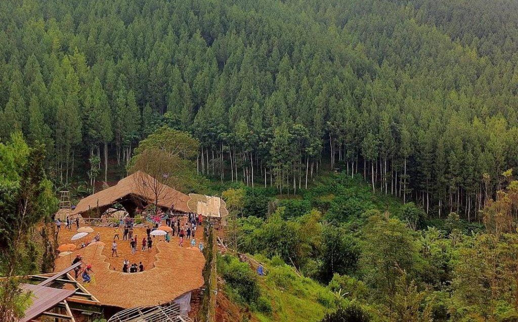 Tempat Menarik Di Bandung The Lodge Maribaya