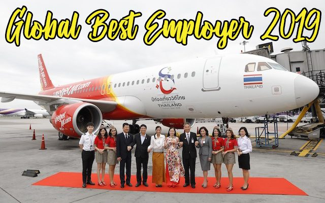 Thai VietJet Won Global Best Employer Brand 2019