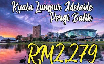 Tiket Penerbangan MAS Kuala Lumpur Adelaide