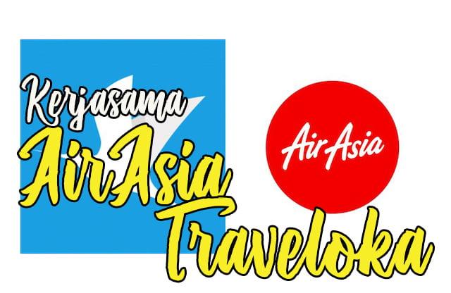 kerjasama airasia traveloka