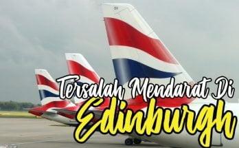 Bagaimana British Airways Tersalah Mendarat Di Edinburgh