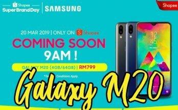 samsung galaxy m20 shopee malaysia