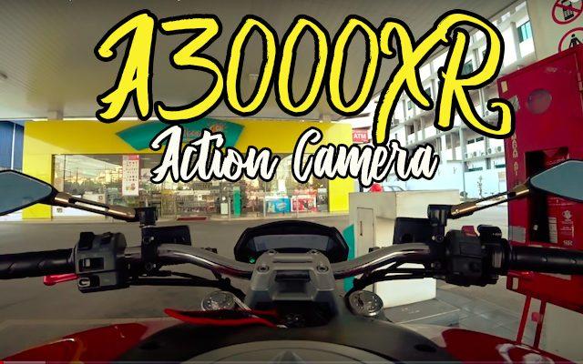Action Camera Sony X3000R Untuk Rakaman Video