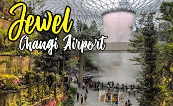 Air Terjun Jewel Changi International Airport Singapura