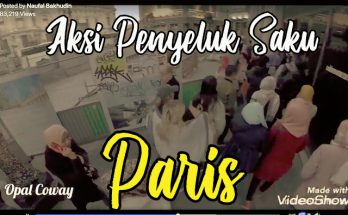 video aksi penyeluk saku di Paris