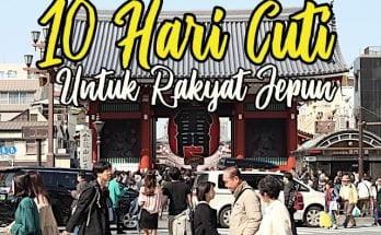 Cuti Panjang 10 Hari Jepun