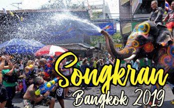 festival songkran bangkok 2019