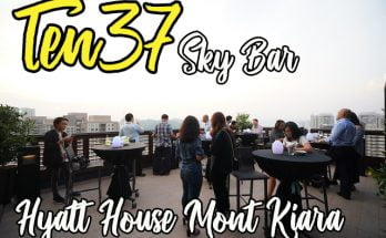 ten37 sky bar hyatt house mont kiara