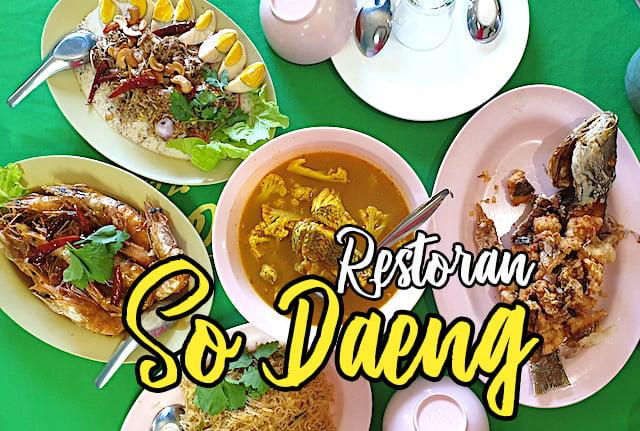 Halal Muslim So Daeng Restaurant Satun Geopark