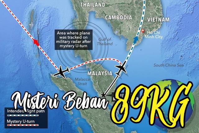 Misteri Kehilangan Pesawat MAS MH370 Barang Misteri 89KG copy
