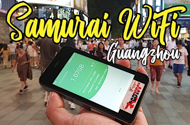 Review Pocket WiFi Samurai WiFi Di Guangzhou China 01