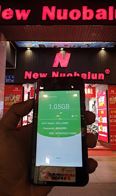Review Pocket WiFi Samurai WiFi Di Guangzhou China 02