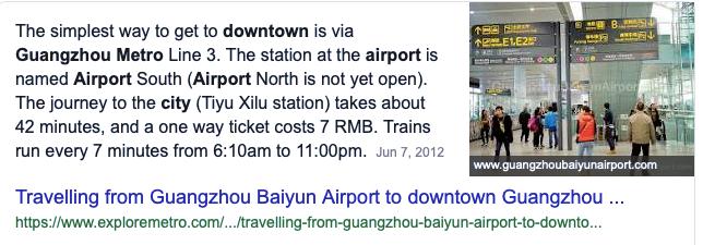 transport dari guangzhou baiyun international airport ke pusat bandar 2