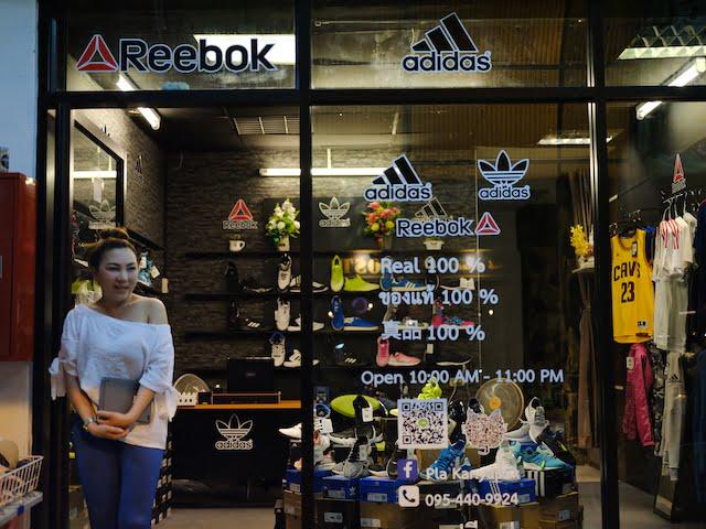 Kedai Kasut Branded Original Di Thailand 01