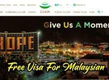 Free Visa Untuk Malaysia Ke Guam USA