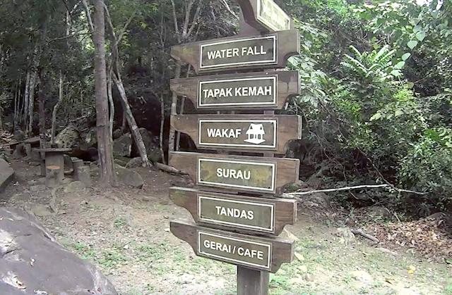Kampung Asah Waterfall Pulau Tioman 02