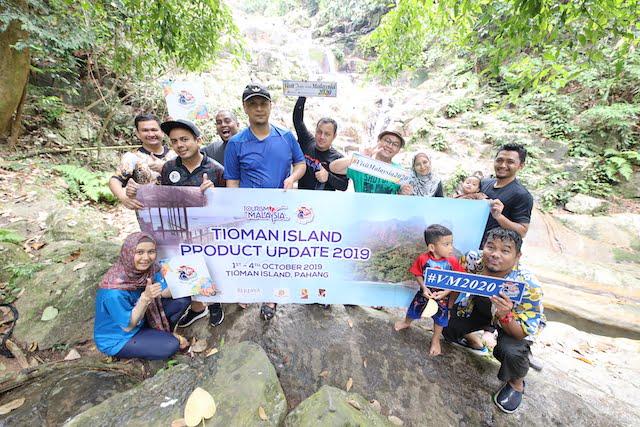 Kampung Asah Waterfall Pulau Tioman 10