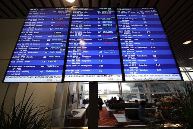 Pengalaman Terbang Dengan Malaysia Airlines KLIA Labuan 01