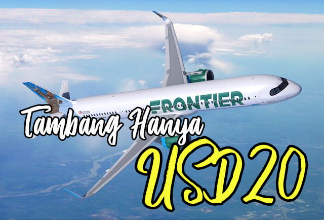 FlyFrontier Low Cost Airlines